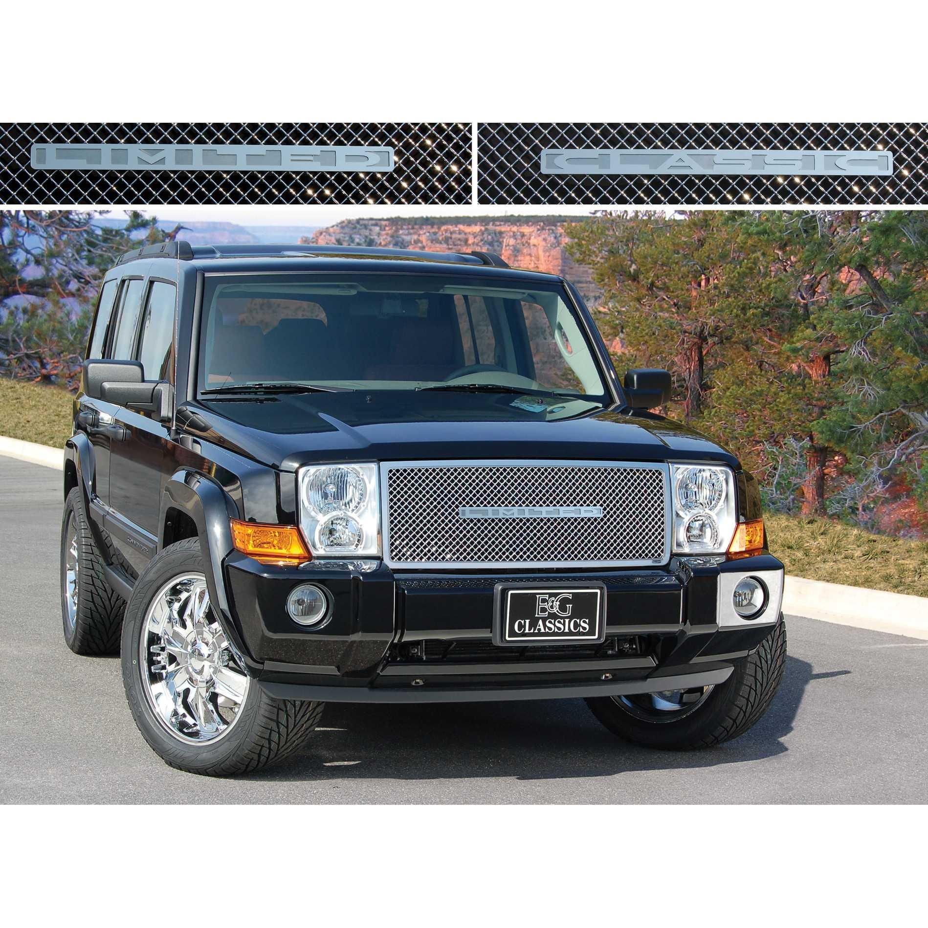 e\u0026g classics 2006 2010 jeep commander grille heavy mesh grille uppere\u0026g classics 2006 2010 jeep commander grille heavy mesh grille upper only 1362 0104 06
