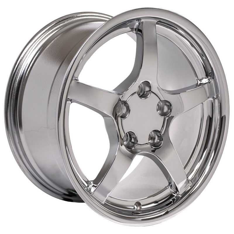 Corvette C5 Style (CV05)  Wheels Deep Dish Chrome