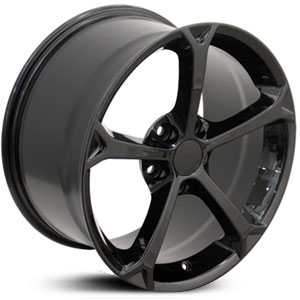Corvette 12  Wheels Black