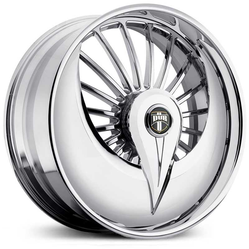 Dub Azzmacka Skirt 602S  Wheels Chrome