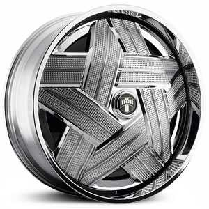 Dub Crown Spinner  Wheels Chrome