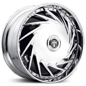 Dub DA-U Spinner  Wheels Chrome