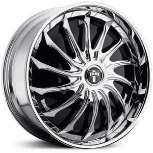 Dub Seeka Spinner  Wheels Chrome