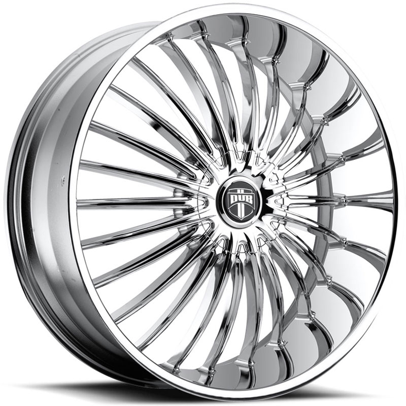 Dub Suave 140  Wheels Chrome