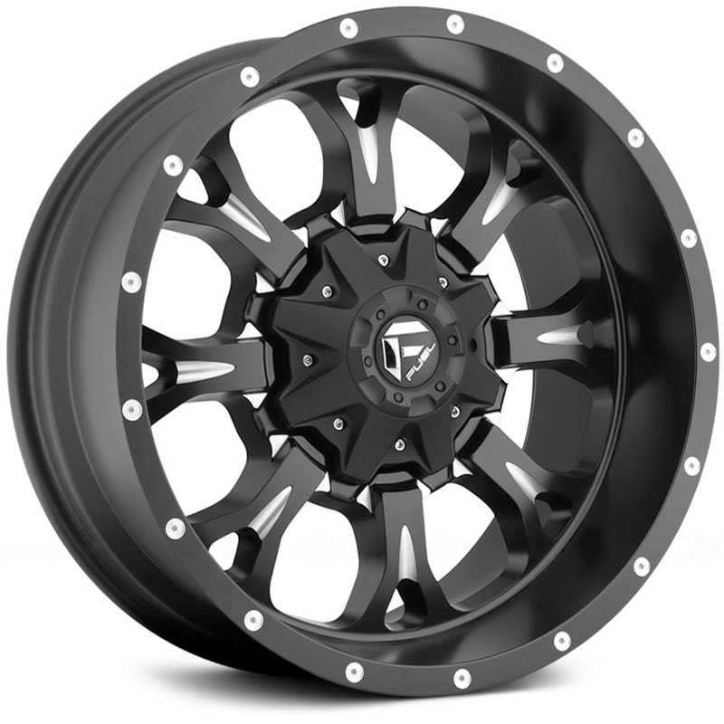 Fuel D517 Krank  Wheels Black Milled