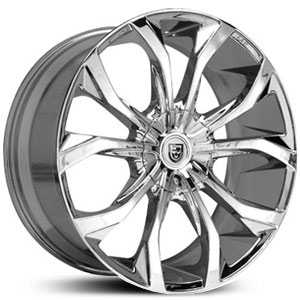 Lexani Lust  Wheels Chrome
