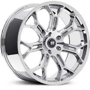 19x8.5 Motegi 120 Chrome HPO