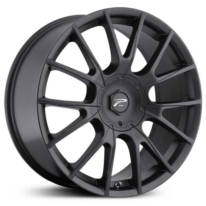 Platinum 401B Marathon  Wheels Black