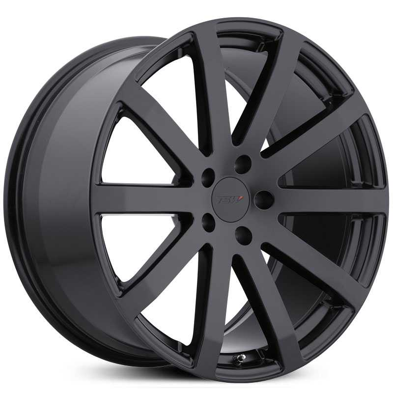 17x8 TSW Brooklands Matte Black HPO