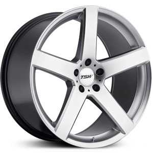 TSW Rivage  Wheels Hyper Silver