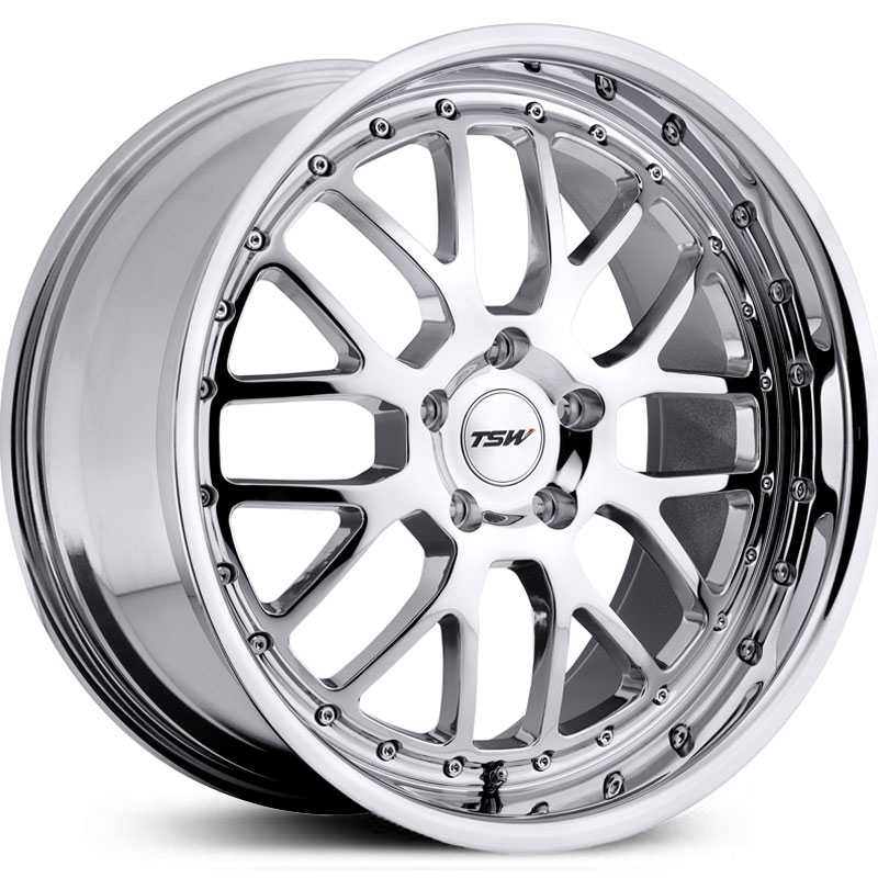 TSW Valencia  Wheels Chrome