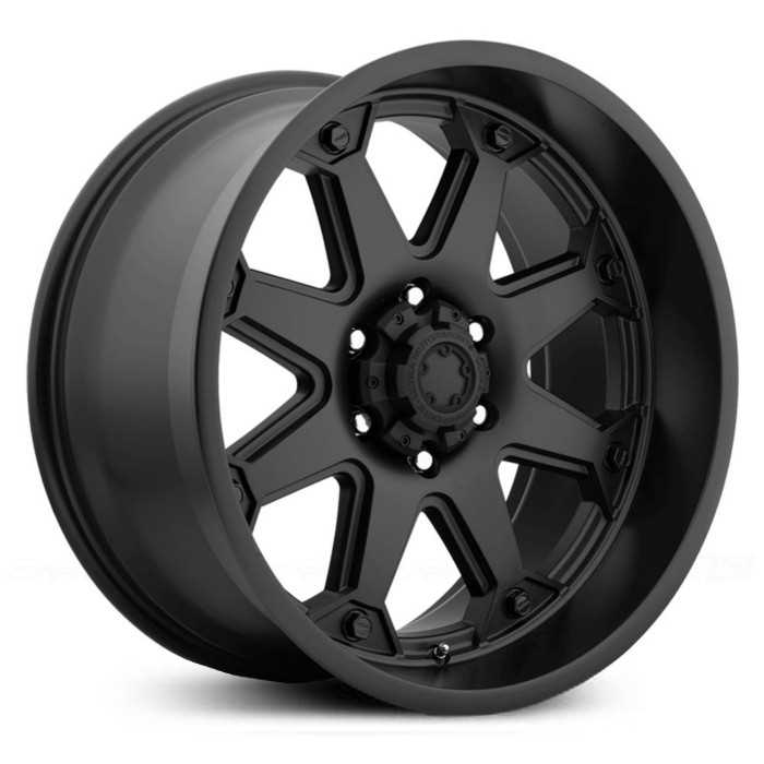 Ultra 198B Bolt  Wheels Semi Gloss Black
