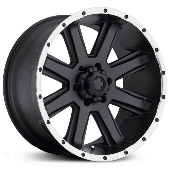 Ultra 195B Crusher  Wheels Semi Gloss Black