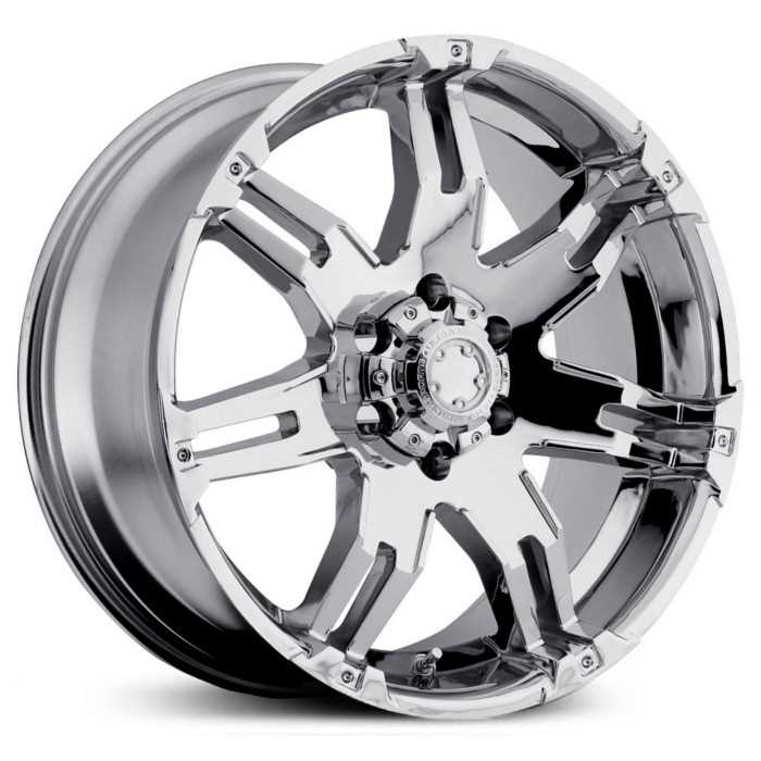 Ultra 237/238C Gauntlet  Wheels Chrome