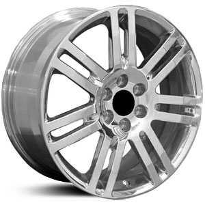 cadillac 18x8 srx ca06 polished hpo wheels rims buy 210. Black Bedroom Furniture Sets. Home Design Ideas