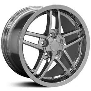 Corvette 07  Wheels Deep Dish Chrome