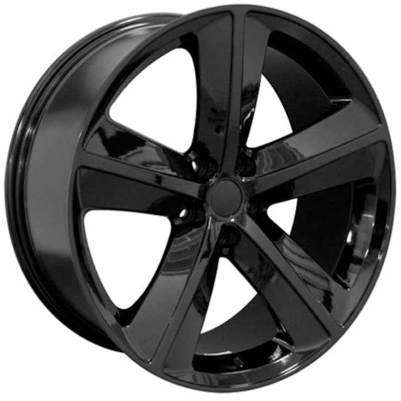 Dodge Challenger SRT Style (DG05)  Wheels Black