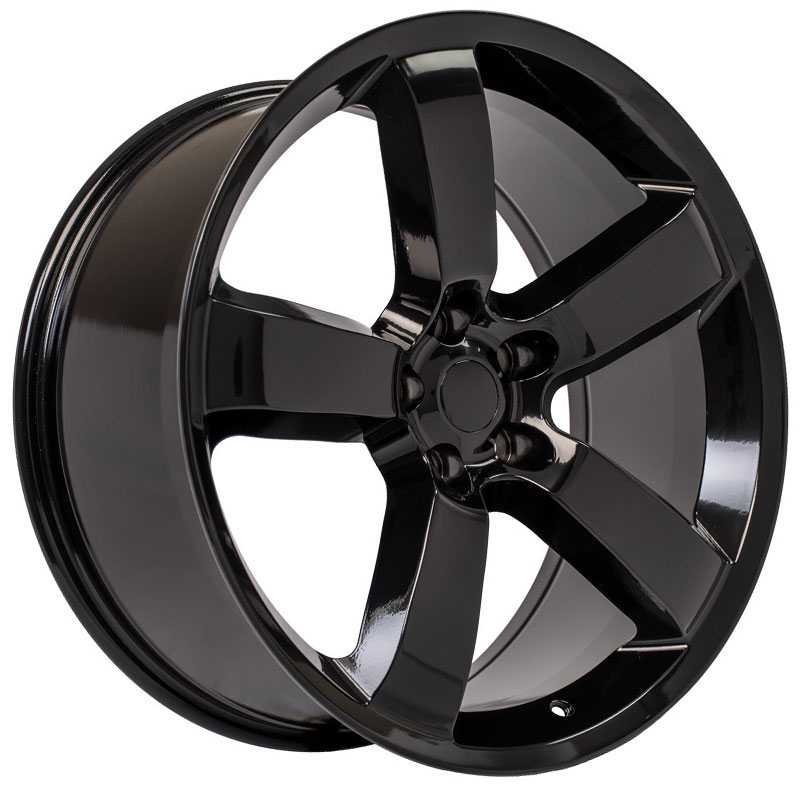 Dodge Charger SRT Style (DG04)  Wheels Black