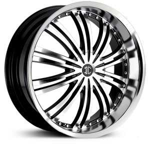 15x7.0 2CRAVE N01 Glossy Black / Machined Face / Machined Lip HPO