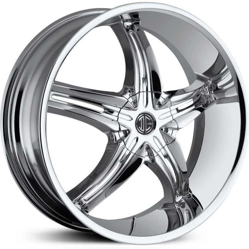 22x8.5 2CRAVE N05 Chrome RWD