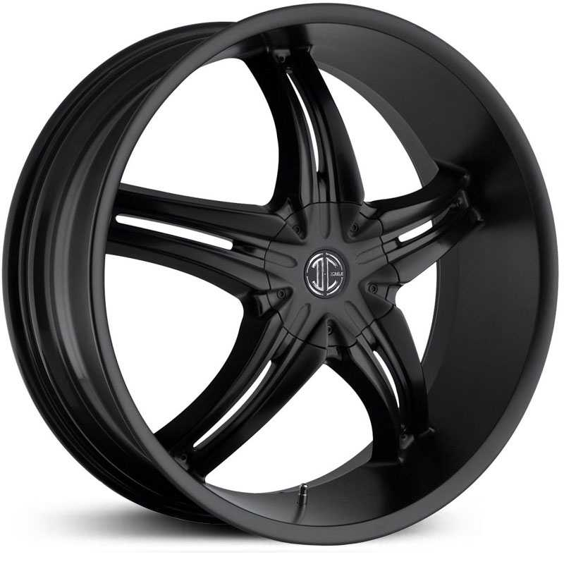 20x8.0 2CRAVE N05 Satin Black RWD