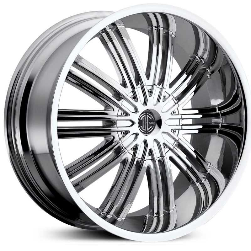 22x9.5 2CRAVE N07 Chrome RWD