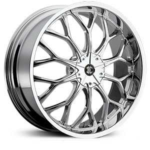 22x8.0 2CRAVE N09 Chrome HPO