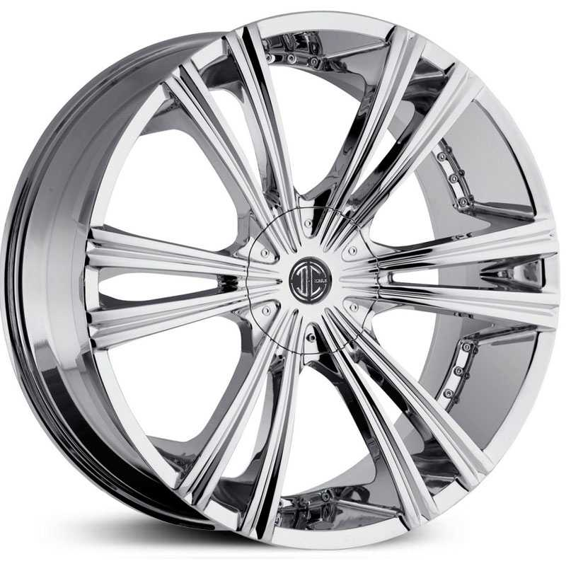22x9.5 2CRAVE N12 Chrome RWD