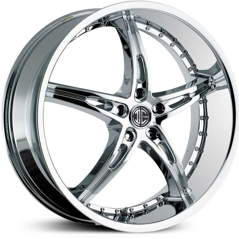 20x8.5 2Crave N14 Chrome RWD