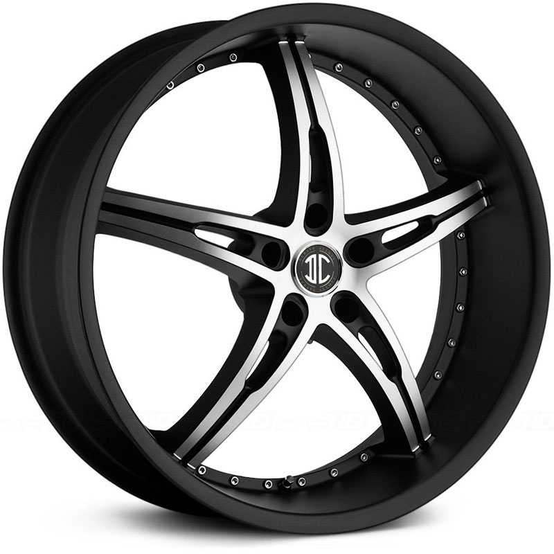22x9.0 2CRAVE N14 Satin Black / Machined Face / Satin Black Lip RWD