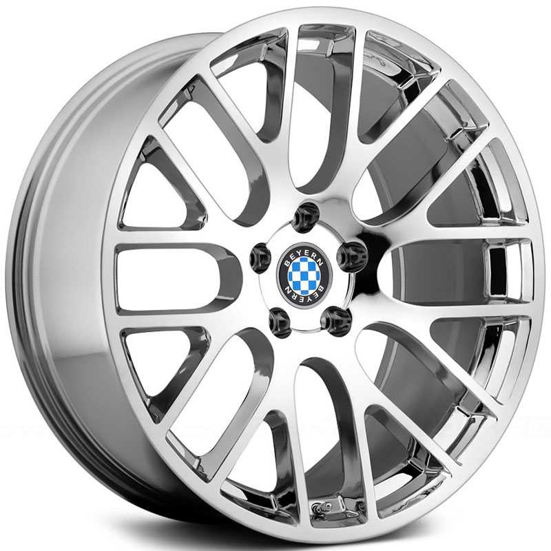 Beyern Spartan  Wheels Chrome