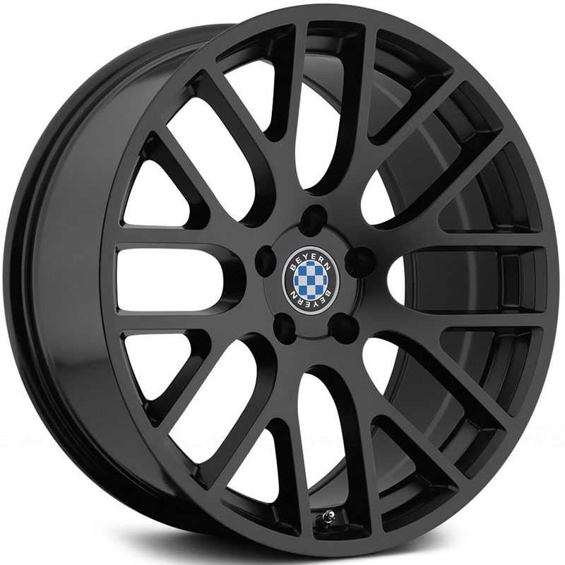 Beyern Spartan  Wheels Matte Black