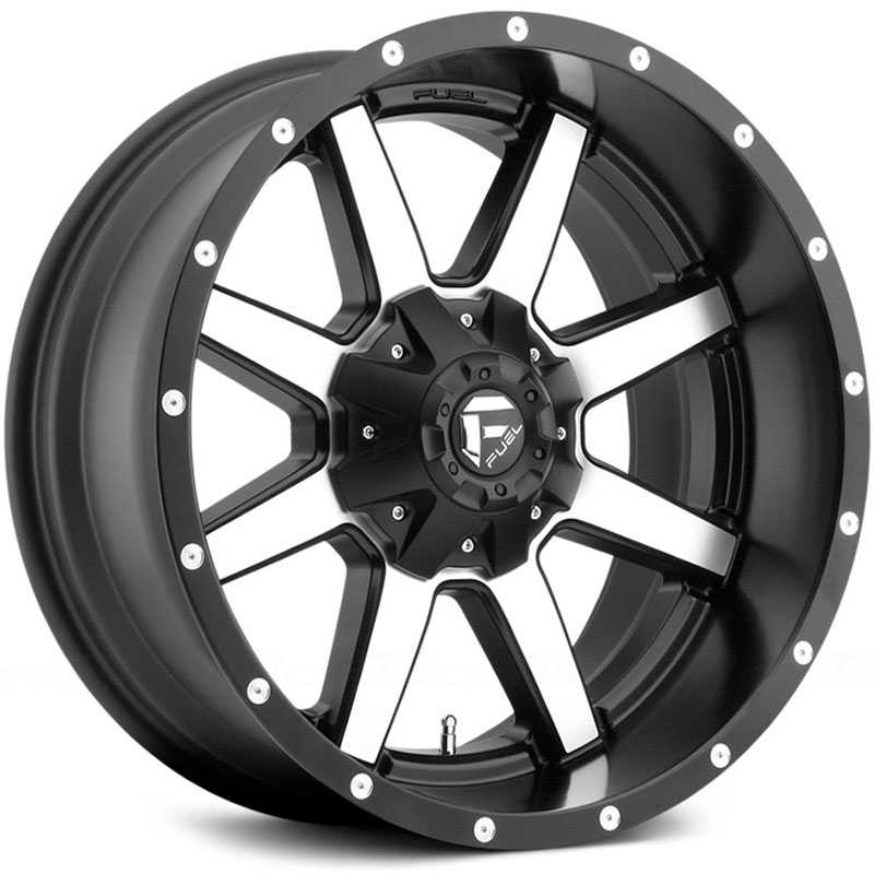 Fuel D537 Maverick Black Machined