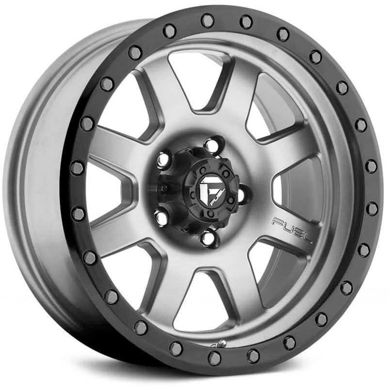 Fuel D552 Trophy Silver/Grey/Gunmetal