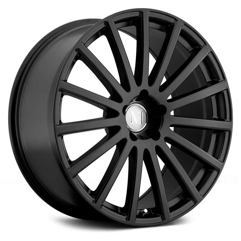 Mandrus Rotec  Wheels Matte Black