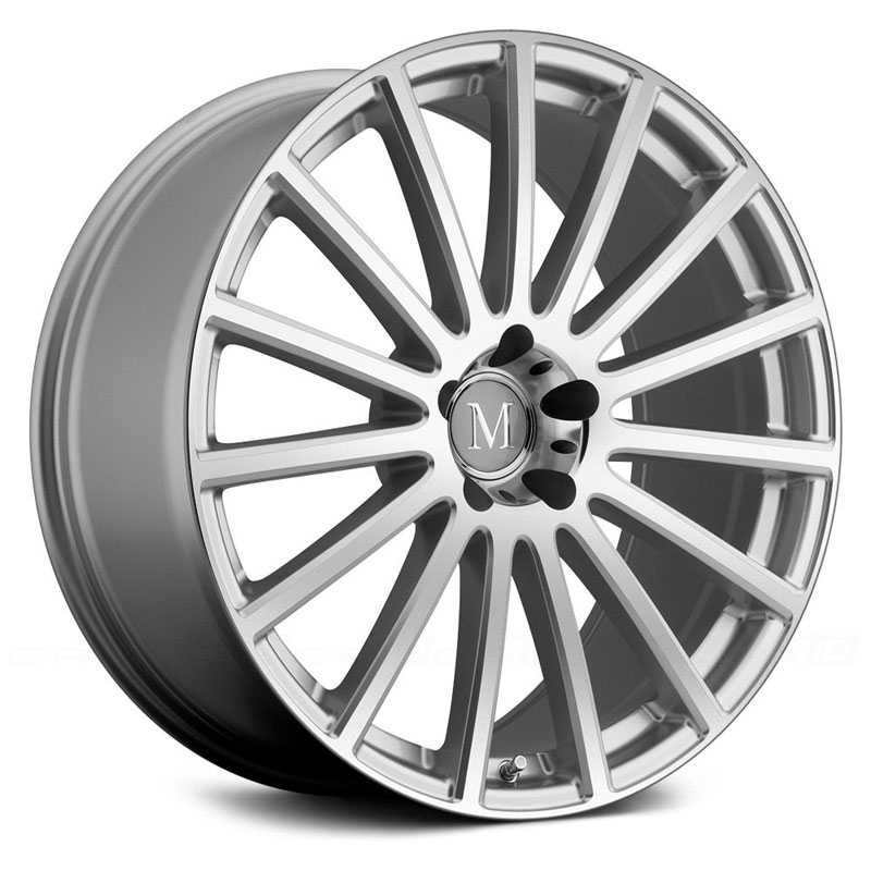 Mandrus Rotec  Wheels Silver w/Mirror Cut Face