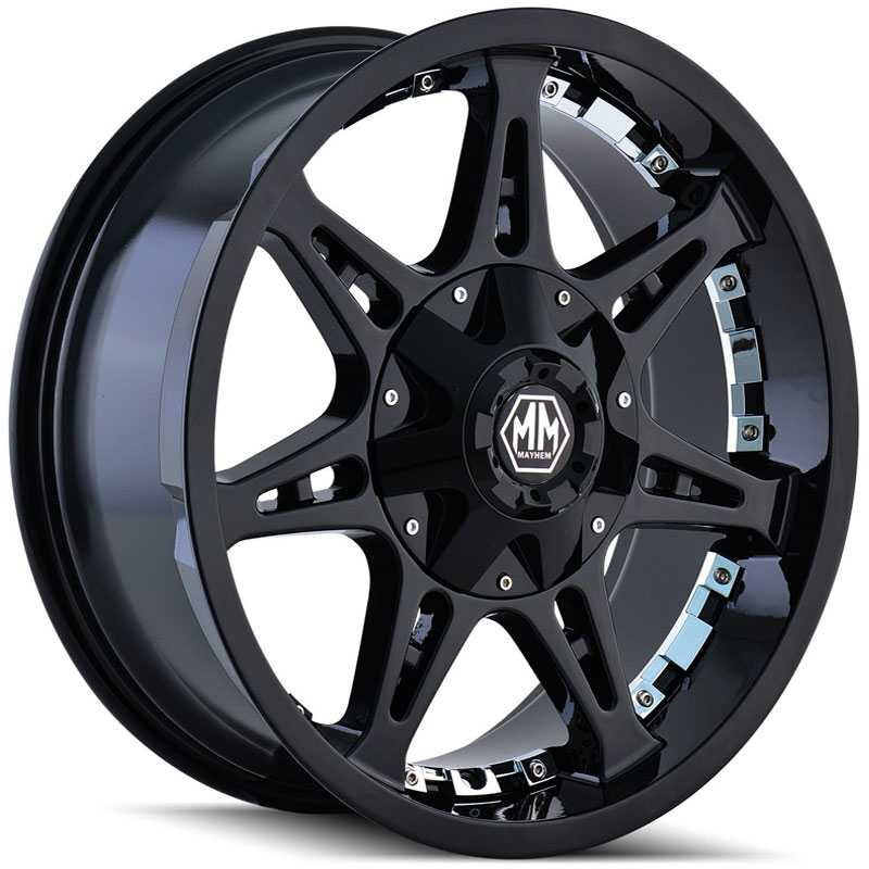 Mayhem Missile 8060  Wheels Black