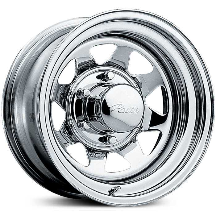 Pacer 315C Spoke  Wheels Chrome