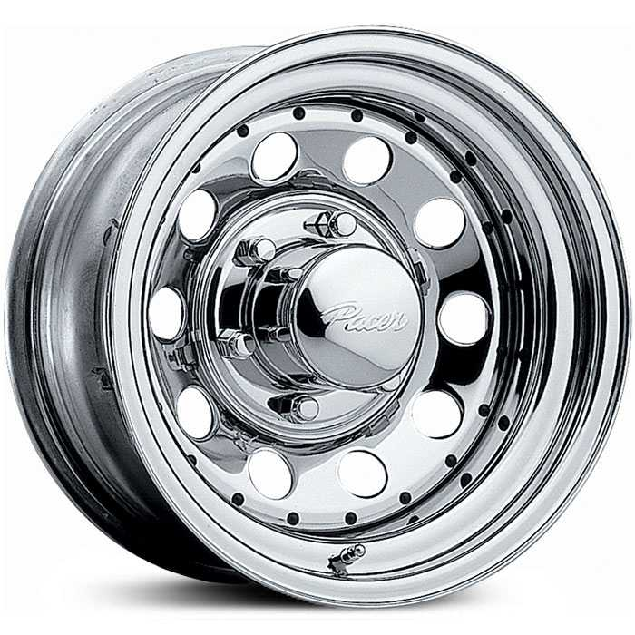Pacer 320C Mod  Wheels Chrome