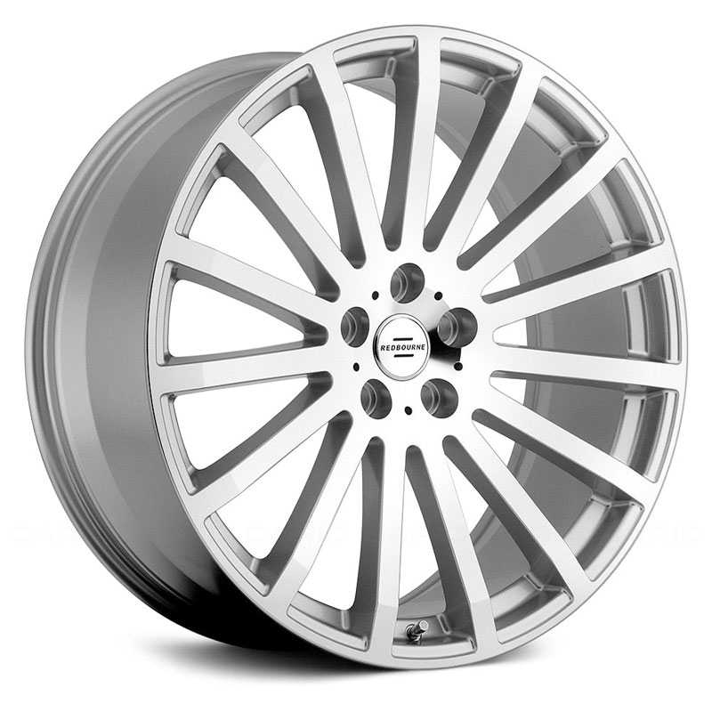 Redbourne Dominus  Wheels Silver w/ Mirror Cut Face