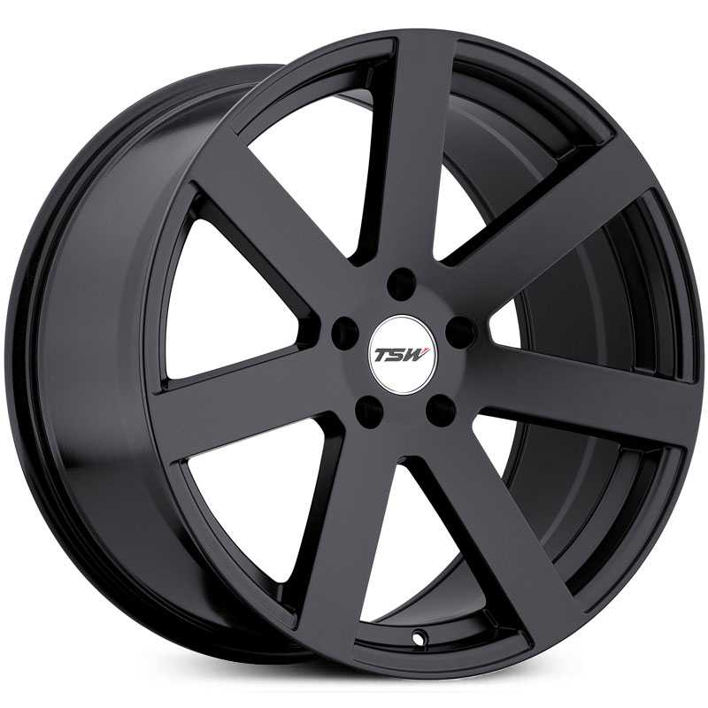 TSW Bardo  Wheels Matte Black