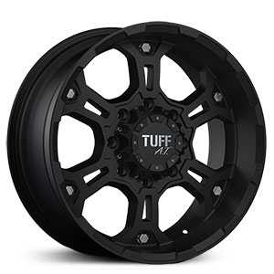 Tuff All Terrain T03  Wheels Flat Black