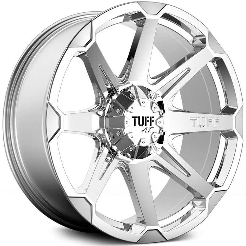 Tuff All Terrain T05  Wheels Chrome