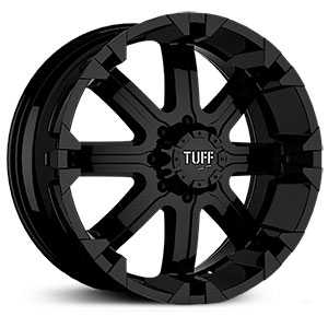 Tuff All Terrain T13  Wheels Black