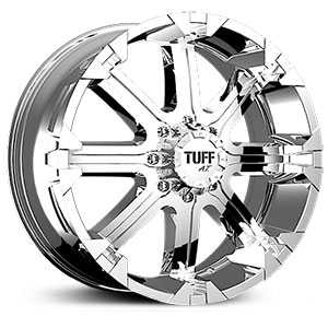Tuff All Terrain T13  Wheels Chrome