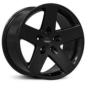Tuff All Terrain T20R  Wheels Satin Black