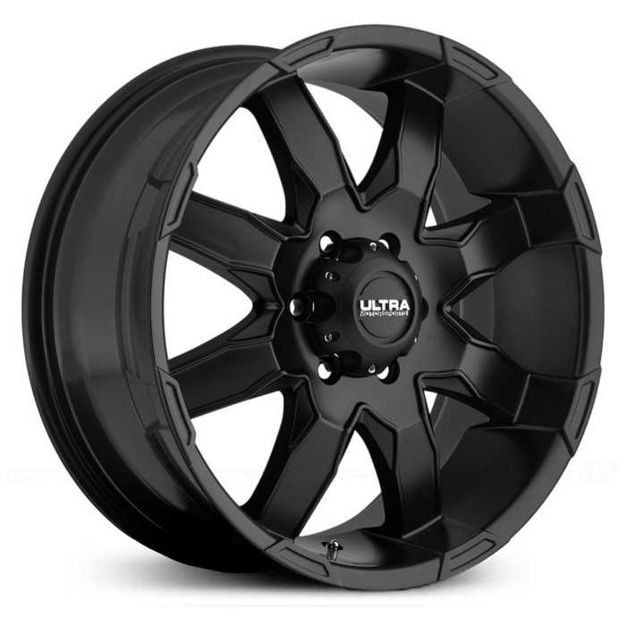 Ultra 225SB Phantom  Wheels Satin Black
