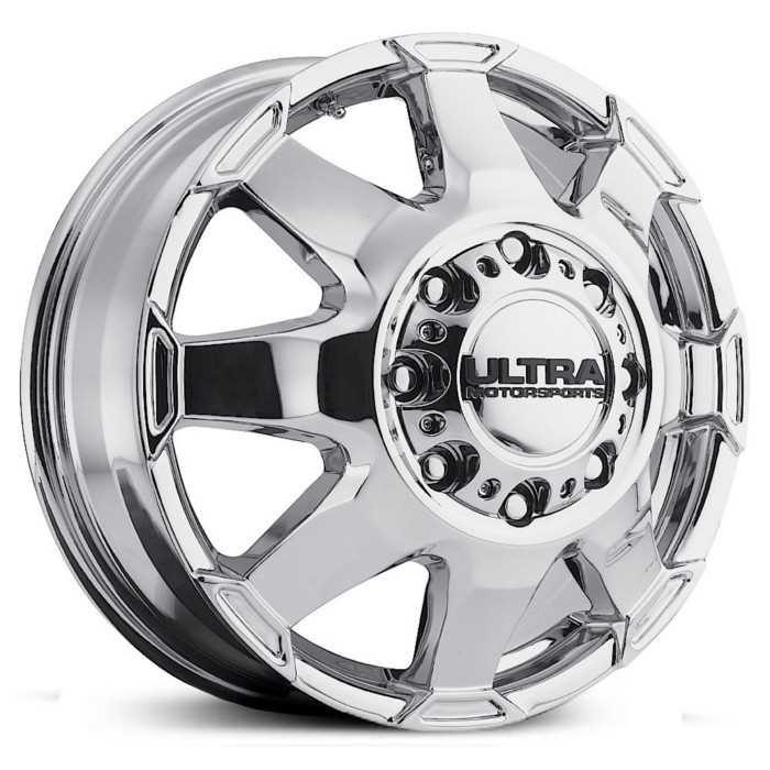 Ultra 025C Phantom Dually  Wheels Chrome (Front)