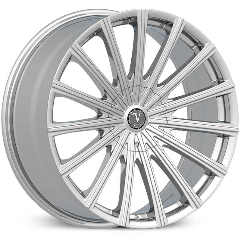 Velocity VW-10  Wheels Chrome
