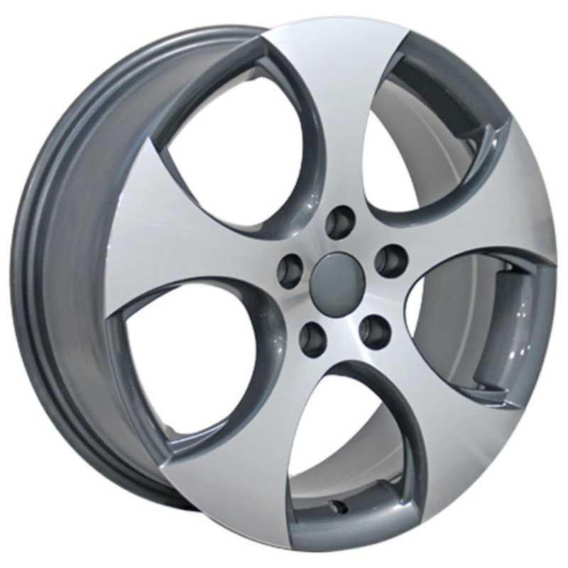 Volkswagen GTI (VW20)  Wheels Gunmetal Machined Face